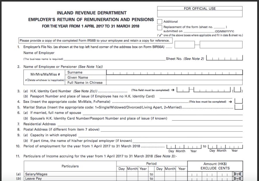 IR56B form