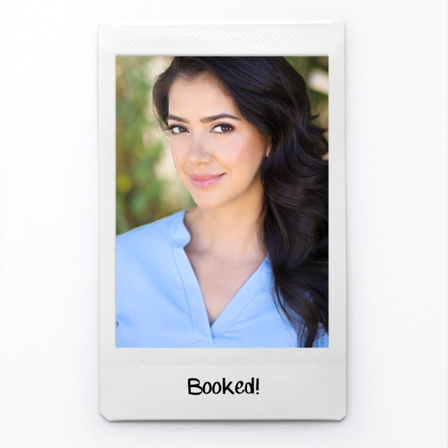 Booked! Congrats from Talent Direct Agency!