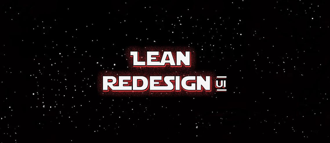 Série Lean Redesign UI