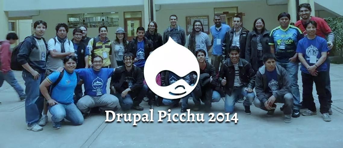 Drupal Picchu 2014