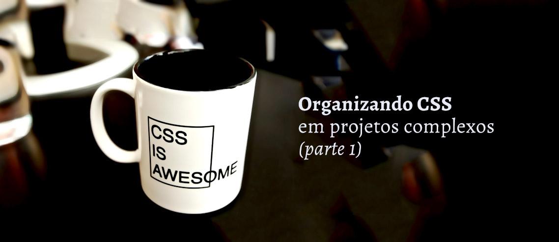 Organizando CSS em projetos complexos