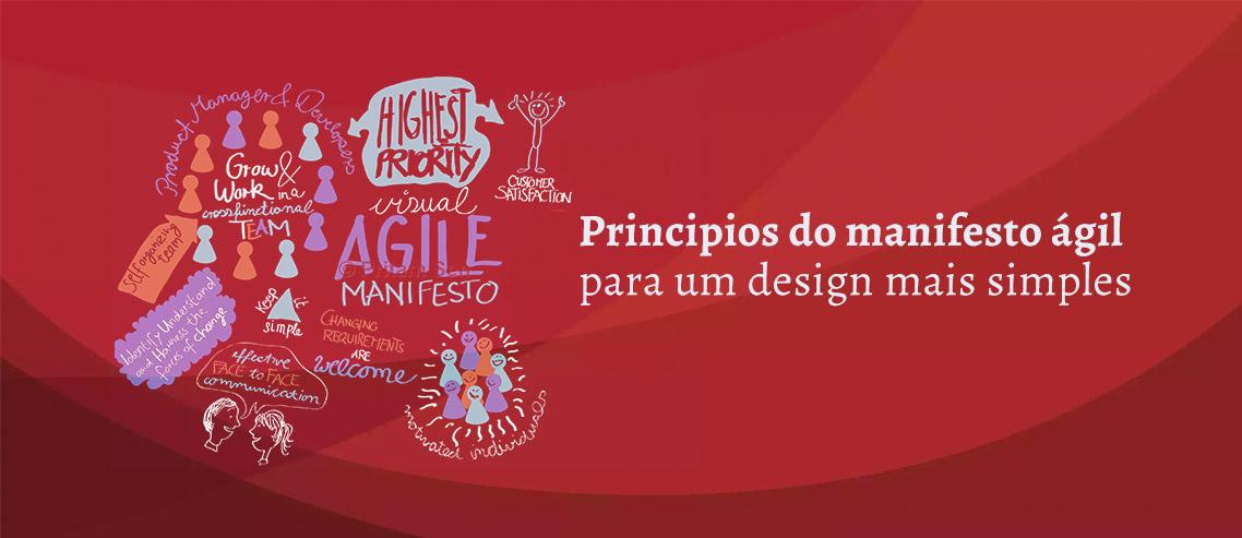 Princípios do Manifesto Ágil para um Design Simples