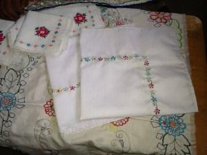 Cristina's embroidery