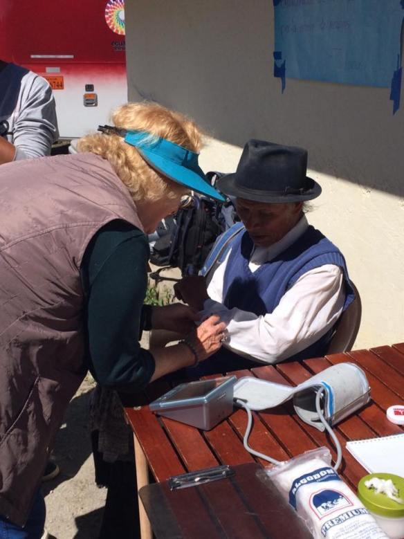 Tratamiento de pacientes en La Banda