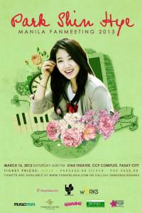 Park Shin Hye - Manila fan meeting