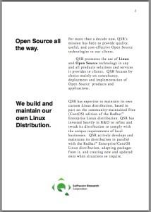 Q Software Research - Company Profile