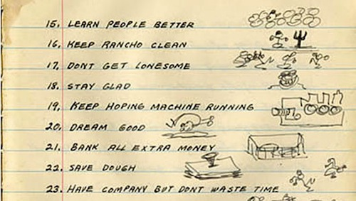 woody guthrie new year's resolutions