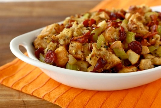 Christmas Stuffing with Bacon