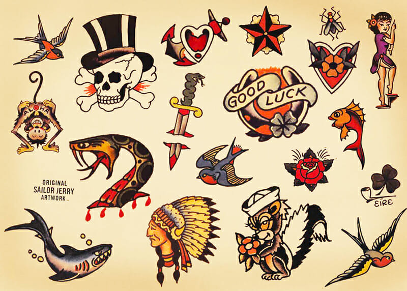 Original Sailor Jerry Designs