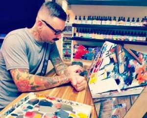 Seattle Tattoo Artist Curtis Dee Stairs