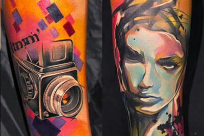 Tattoo Artist Ivana Belakova