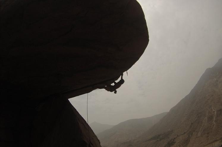 Escalando en Lima, Perú