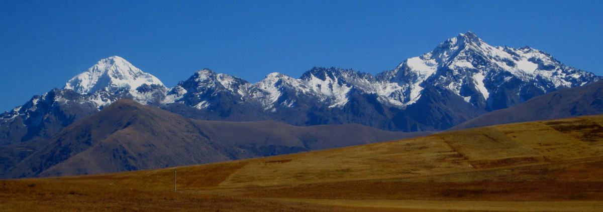 Cordillera Urubamba - Cuzco