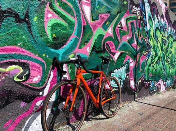 Bicicleta de ruta.