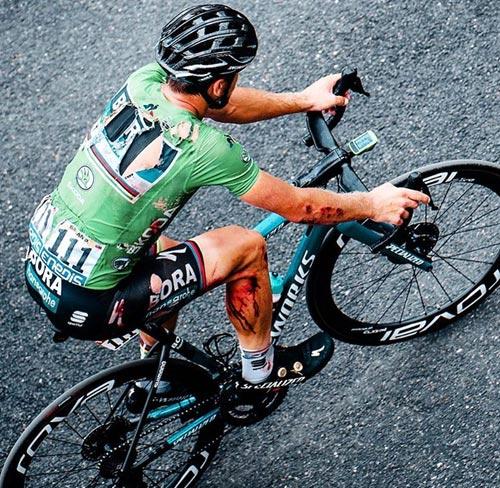 Carrera ciclismo Master al Ecuador.