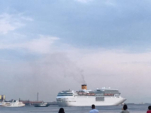 神戸 クルーズ客船