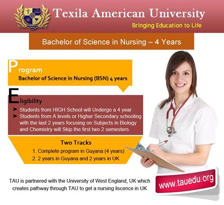 TAU offers Nursing Programs in its Campus at affordable fees