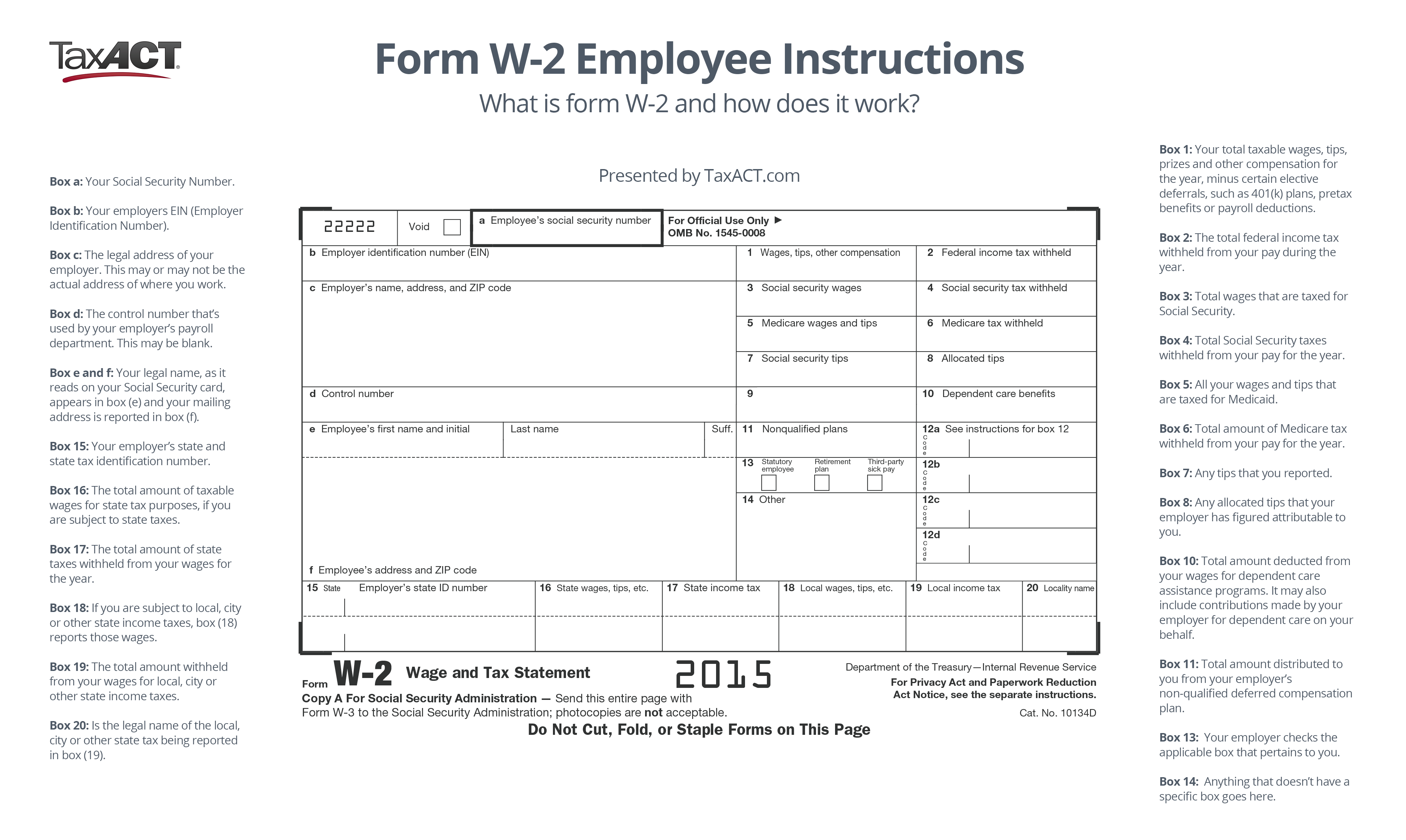 What Is Form W 2 And How Does It Work