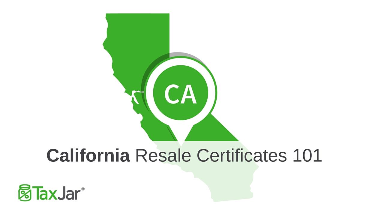 Nevada State Resale Tax Certificate