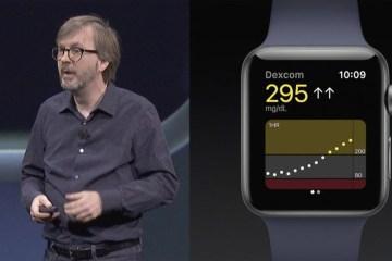 Dexcom Apple watchOS 4