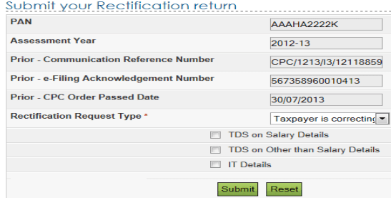 Steps for filing rectification request on receipt of demand notice step spiritdancerdesigns Images