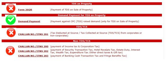 CPC(TDS) Advisory for Deposit of Tax deducted and Demand for TDS
