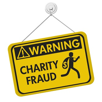 Beware of charity scams