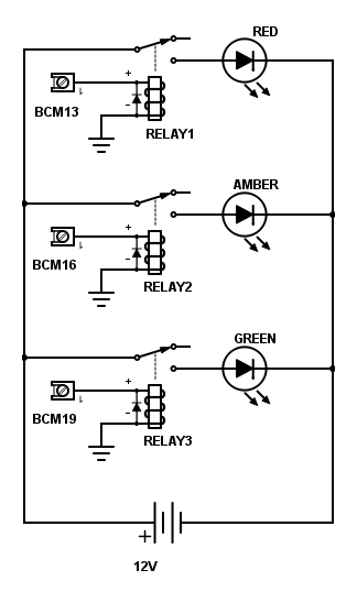 A circuit diagram