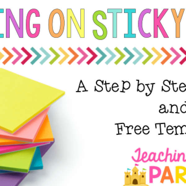How to Print on Sticky Notes: A Tutorial and Free Template!