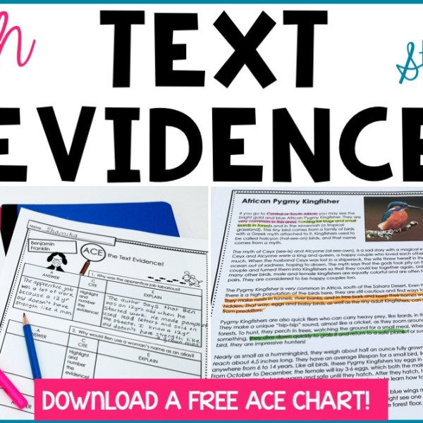 How to Teach Text Evidence: A Step-by-Step Guide & Lesson Plan