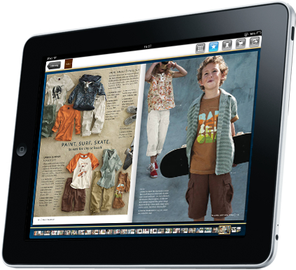 Tea Catalogs on iPad