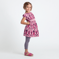 artisan lotus girls dress