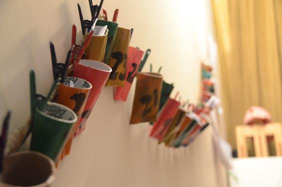 DIY Toliet Paper Tube Chain
