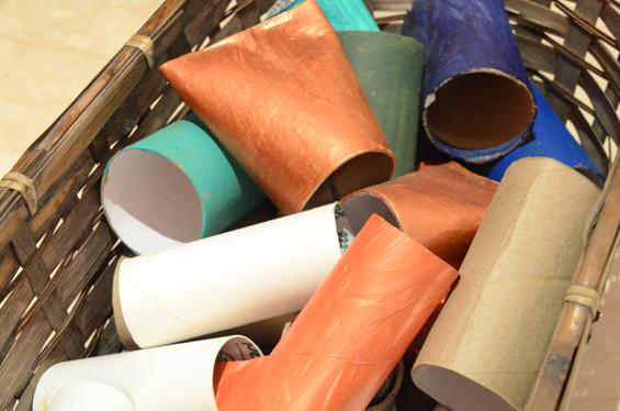 DIY Toliet Paper Tubes Activity