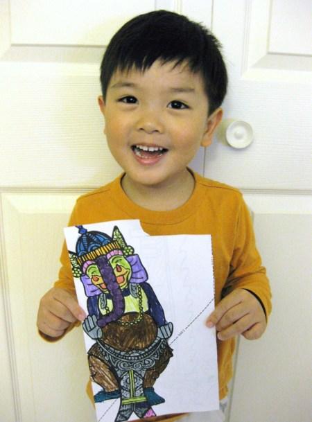 Tea Collection Coloring Book Contest