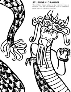 Free Coloring book page