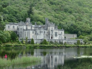 Kylemore Abbey, in the Connemara region near Galway.