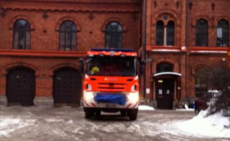 Fire Engine in Helsinki