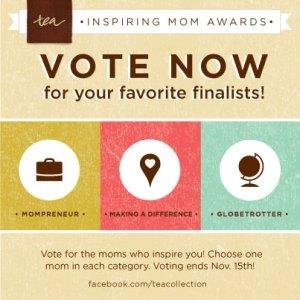 Inspiring Mom Awards- vote today