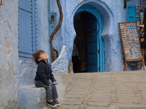 Raising Kids in Morocco via Tea Collection