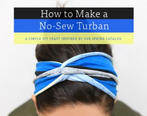 No-Sew Turban