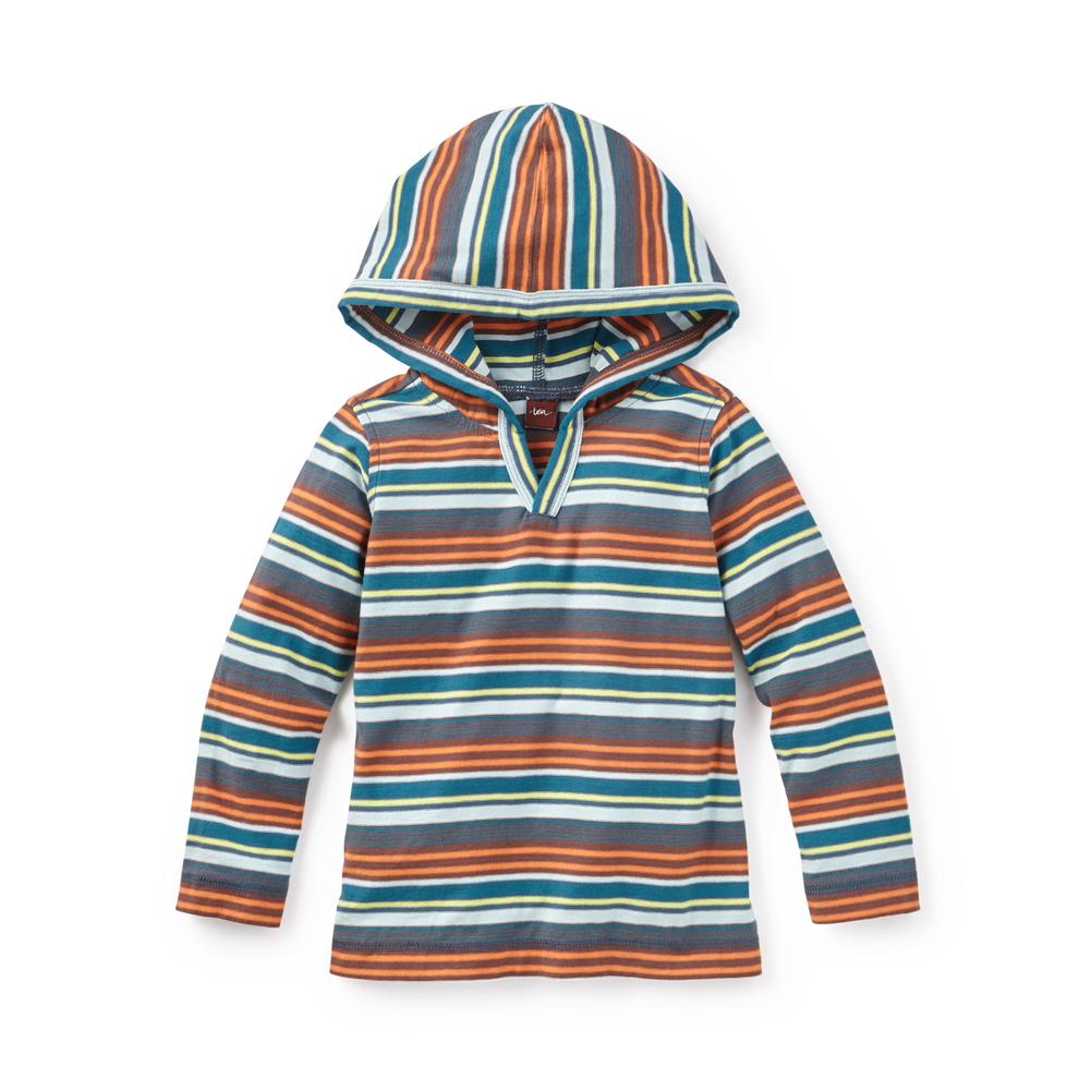 Bandoola Stripe Happy Hoodie