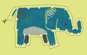 DIY Embroider an Elephant