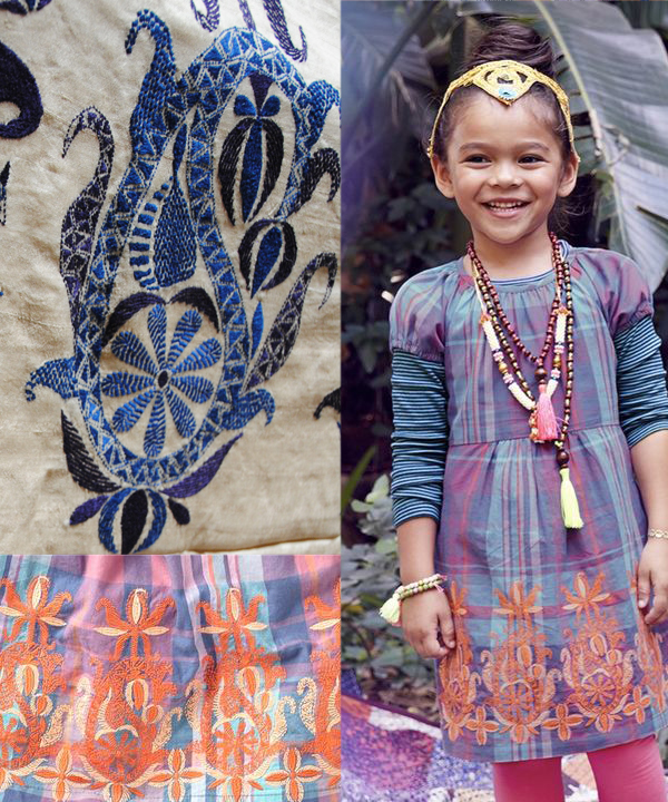 india kantha dress