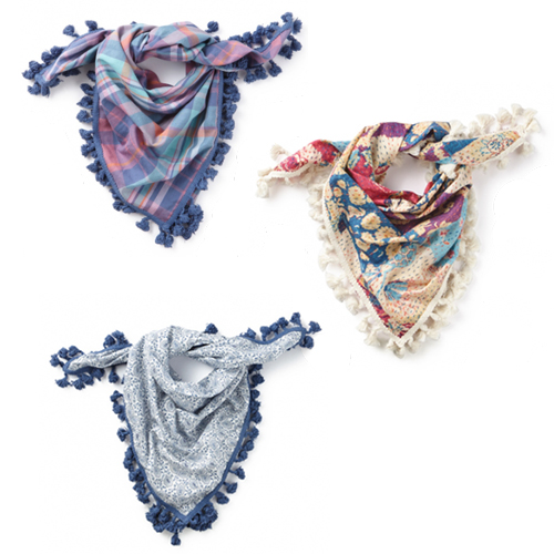 Tea Collection Scarves