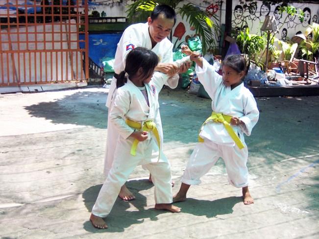 Aziza's Place Karate Class