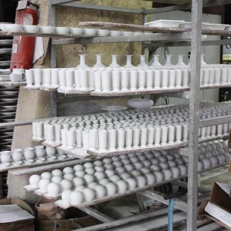 Ceramics fresh from the kiln
