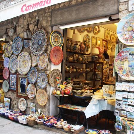 Ceramics Shop front