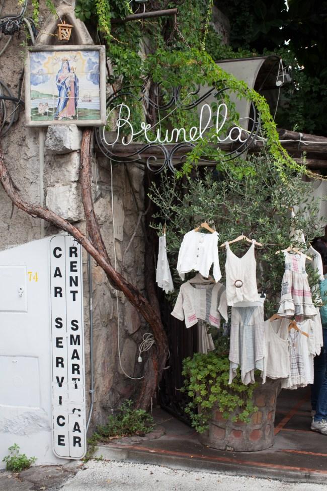 Positano Linen Shop