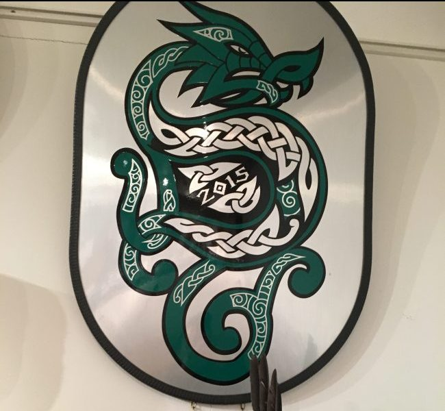 Celtic Dragon Shield